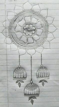 Round Mehndi Design, New Henna Designs, Indian Henna Designs, Mehndi Designs Book, Simple Rangoli Designs Images, Modern Mehndi Designs, Mehndi Designs For Beginners, Mehndi Designs For Girls, Mehndi Design Photos
