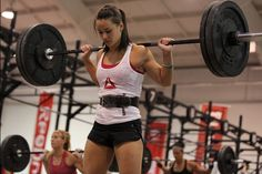 Camille LeBlanc-Bazinet Pics: Camille Leblanc-Bazinet is one of the top ranked Crossfit Athletes in the world. She splits her time between Canada and the United States as she juggles college and being one of the rising stars of Crossfit. Camille majors in Chemical Engineering.