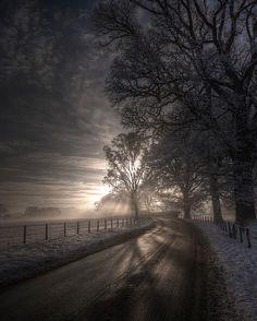 Winter in Eden Valley, Cumbria, England (by Mark Littlejohn).