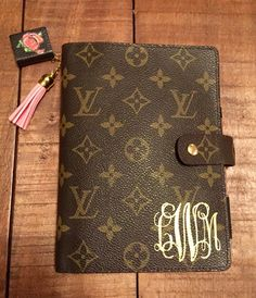 Louis Vuitton MM agenda