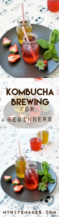 Kombucha Brewing for Beginners - learn how to make this delicious, healthy drink in your own home. #kombucha #tea #vegan #delicious