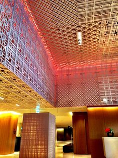 Hyatt regency Kyoto lobby designed by super potato