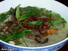 Mien luon de Nghe An - Soupe d'anguilles