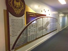 RecognitionArt is the premier provider of donor displays, recognition walls, plaques, signs & more. Start your FREE DESIGN today! Donor Wall, Wall Plaques, Plexus Products, Wall Design, Fundraising, Free Design, Glass Signage, Mosaic, Design Inspiration