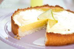 Key Lime Pie mit Kokosnuss-Boden via @princessch