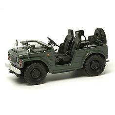 "WANT ONE! In full scale please :) > MAKEUP 1/43 Suzuki Jimny SJ10/2 ""Window Down"" 1977 Green"