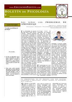Children with learning problems, by Juan J. Ibáñez Solar  (spanish)  Los niños con problemas de aprendizaje, por Juan J. Ibáñez Solar