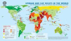 Os 20 países mais homofóbicos do mundo | Viaja, Bi!