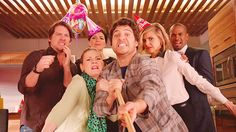 Hell Yeah Happy Endings! Comedy Series, Tv Series, Happy Endings, I Miss You, Fun Stuff, It Cast, Entertaining, Watch, Film