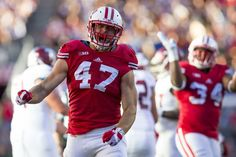 Wisconsin Badgers thriving with 'next man up' philosophy Badger Sports, Go Pack Go, Wisconsin Badgers, Man Up, Usa Today, American Football, Troy, College Football, Victorious