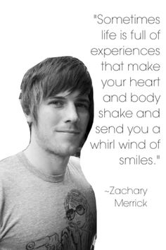 I might use this as a senior quote. I love Zack <3