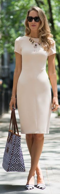 Tailored Dress... - Total Street Style Looks And Fashion Outfit Ideas