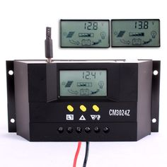 LCD 30A PWM Solar Panel Battery Regulator Charge Controller 12V/24V 360W/720W - 33$