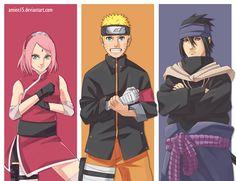 sakura,naruto & sasuke