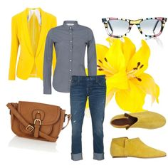 Jeans & Yellow