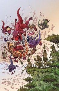 Portada alternativa de James Stokoe para Secret Wars: Battleworld Nº 3 | Todas las noticias de Marvel Comics | Espacio Marvelita