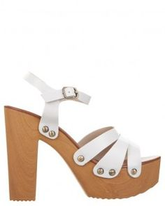 Lipstik Mode Platform Sandals - Great looking similar to those designed for Swedish Hasbeens.