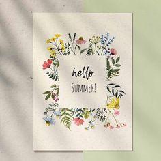 Watercolor Border, Floral Wreath Watercolor, Watercolor Cards, Watercolor Flowers, Wreath Drawing, Wild Flowers, Meadow Flowers, Floral Border, Flower Backgrounds