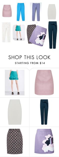 """Низы"" by anna-brus ❤ liked on Polyvore featuring Sandro, BCBGMAXAZRIA, Paul & Joe Sister, Oscar de la Renta and Mary Katrantzou"