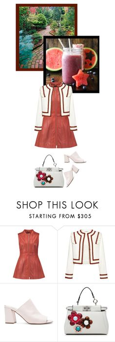 """""""Summer date night"""" by noconfessions ❤ liked on Polyvore featuring Ganni, Maryam Nassir Zadeh and Fendi"""