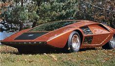 1971 Lancia Fulvia 1.6HF Stratos Bertone Concept Factory Photo J7448