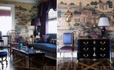 Jewel Toned Furnishings