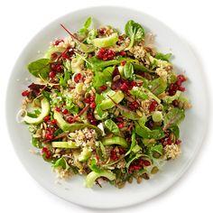 Påskesalat med agurker og quinoa