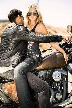 Let's ride, Baby Love the bike! Cool photo too