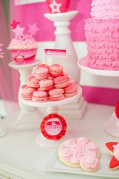ag doll party | American Girl Doll Birthday Party via Kara's Party Ideas | Kara ...
