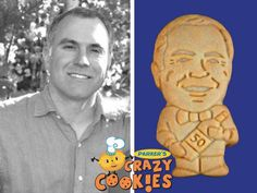 For an unforgettable 50th Birthday party, order cookie twins from Parker's Crazy Cookies...We will make the birthday boy into a delicious, crunchy cookie...the best party favors ever!