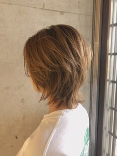 Bob Style Haircuts, Short Shag Hairstyles, New Haircuts, Cute Hairstyles, Short Hair With Layers, Short Hair Cuts, Short Hair Styles, Medium Hair Styles For Women, Mullet Hairstyle