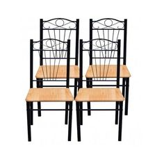Modern Dining chairs set of 4 very comfortable! in Home, Furniture & DIY, Furniture, Chairs Modern Dining Chairs, Dining Chair Set, Coffe Table, Chair Design, Living Room Furniture, Luxury Homes, Bar Stools, House, Pine Kitchen