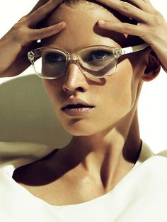 She looks awesome in these, but she is Lara Stone, and she is in a bubble.
