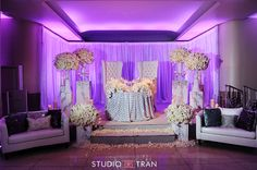 white and silver reception-bridal table-white and platinum wedding reception