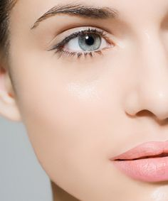 lovely natural look, dewy skin