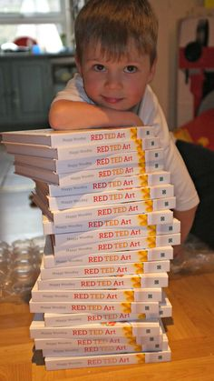 Signed Red Ted Art books available from *me*!!!