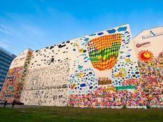 Freedom Mural in Leipzig, Germany