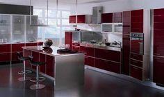 #diseño de #cocinas #puertas de #cristal #Linea3cocinas #Madrid