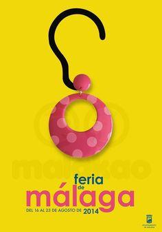 CARTEL FERIA DE MÁLAGA 2014