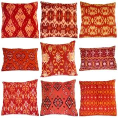 I love Ikat and watched as they wove it in Bali and then bought a lot of it.