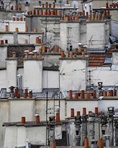 Michael Wolf, série Paris Rooftops. 2004