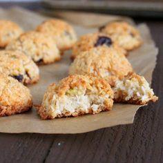 Zesty Coconut Macaroons with Cranberries and Pistachios for Kristy's Cookie Party. Glutenfree Vegan Recipe - Vegan Richa