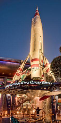 """Blissfully Refreshing"" The Moonliner - Disneyland. Photo by Michaela Hansen."