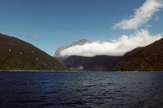 line x shape x colour: milford sound, new zealand: