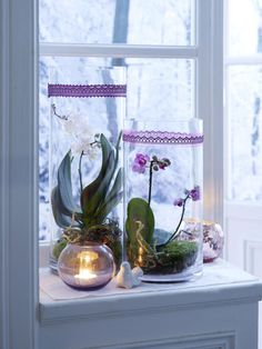 Winterliche Fensterdeko: Schöne Ideen zum Selbermachen  - Wohnidee