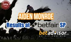 Aiden Monroe: Results at BetFair SP - http://www.talkingtipsters.com/aiden-monroe-results-betfair-sp/