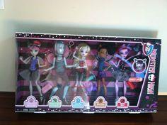 Monster High Dance Class 5-Pack Gil Webber Rochelle Robecca