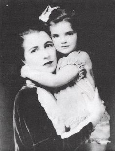 Jacqueline Bouvier and her Mother