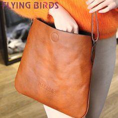 FLYING BIRDS! 2014 new handbags women bags the retro shoulder messenger bag women leather handbags brand famous LS3420 $27,22