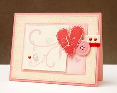 Another cute valentine's card from Jeanette Lynton...